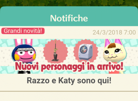Animal Crossing: Pocket Camp, ora disponibili nuovi animali: Razzo, Katy, Cornelio e Franco