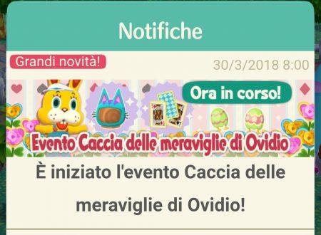 Animal Crossing: Pocket Camp: iniziato l'evento Caccia delle meraviglie di Ovidio