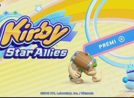 Kirby Star Allies: il titolo aggiornato alla versione 2.0, ora disponibile sui Nintendo Switch europei