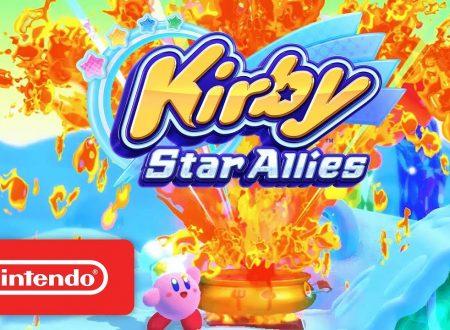 Kirby Star Allies: pubblicati due trailer commercial americani sul titolo