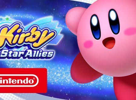 Kirby Star Allies: pubblicato il trailer di lancio del titolo per Nintendo Switch