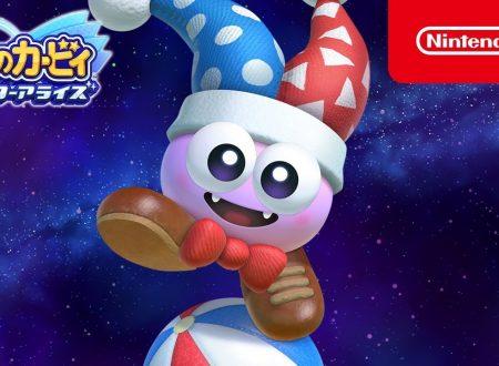 Kirby Star Allies: pubblicato il trailer su Marx, uno degli amici di sogno in arrivo nel gioco