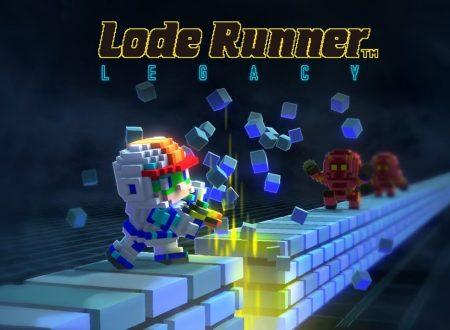 Lode Runner Legacy: pubblicato il primo trailer dedicato alla versione Nintendo Switch