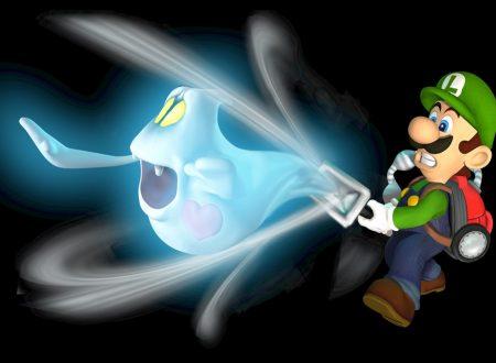 Luigi's Mansion: il remake del celebre primo capitolo per Gamecube, ora in arrivo su Nintendo 3DS
