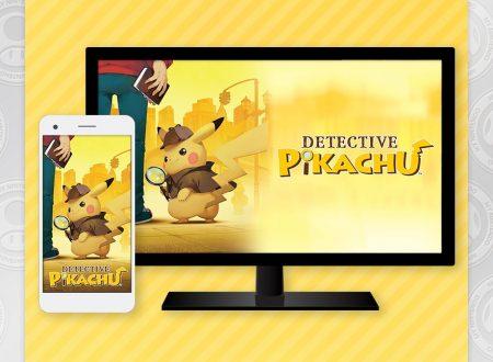 My Nintendo: ora disponibile un wallpaper speciale di Detective Pikachu