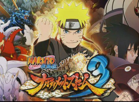 Naruto Shippuden: Ultimate Ninja Storm Trilogy, svelato il filesize della trilogy e dei titoli singoli su Nintendo Switch