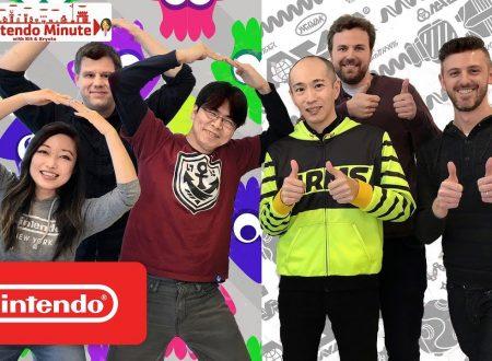 Nintendo Minute: 36 rapide domande ai producer di Splatoon 2 e ARMS, Hisashi Nogami e Kosuke Yabuki