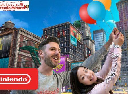 Nintendo Minute: la caccia al palloncino di Luigi in Super Mario Odyssey con Kit e Krysta