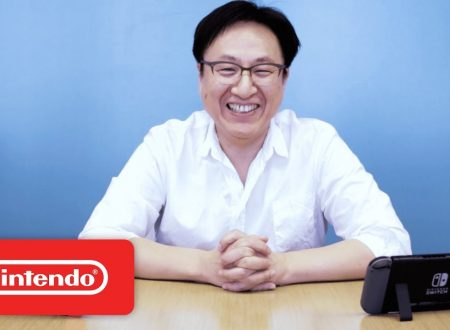 Nintendo Switch: Shinya Takahashi in una video intervista sul primo anniversario della console