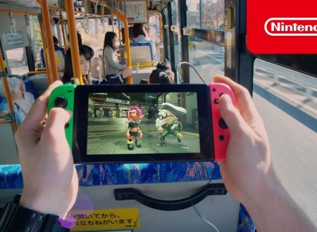 Nintendo Switch: pubblicato un video commercial primaverile dal mondo del Sol Levante