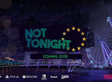Not Tonight: il titolo annunciato per l'arrivo sull'eShop di Nintendo Switch