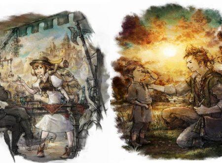 Octopath Traveler: nuove informazioni e screenshots sui personaggi Tressa Colozone e Alfyn Greengrass