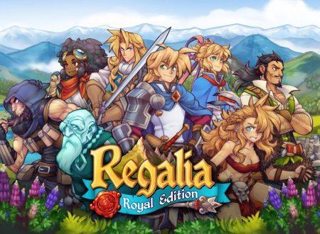 Regalia – Of Men and Monarchs, il titolo è in arrivo il 12 aprile sull'eShop di Nintendo Switch
