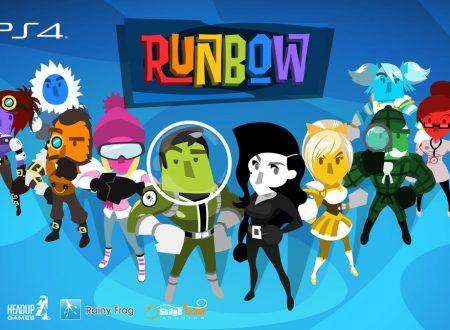 Runbow e Pirate Pop Plus: i due titoli sono in arrivo ad aprile sull'eShop di Nintendo Switch