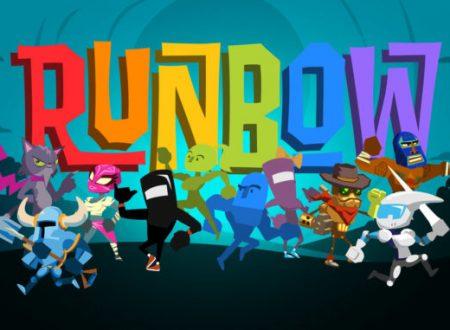 Runbow: uno sguardo in video alla versione Nintendo Switch del titolo