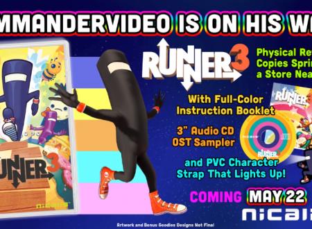 Runner 3: il titolo è in arrivo il 22 maggio sull'eShop di Nintendo Switch