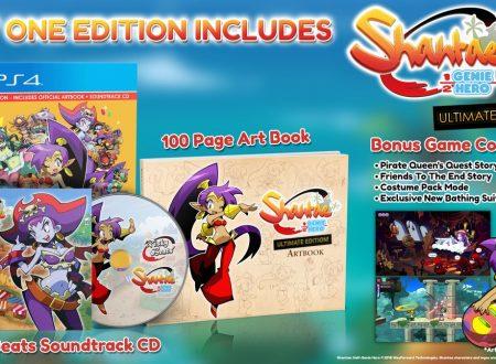 Shantae: Half-Genie Hero – Ultimate Edition, la versione retail è in arrivo il 27 aprile sui Nintendo Switch europei