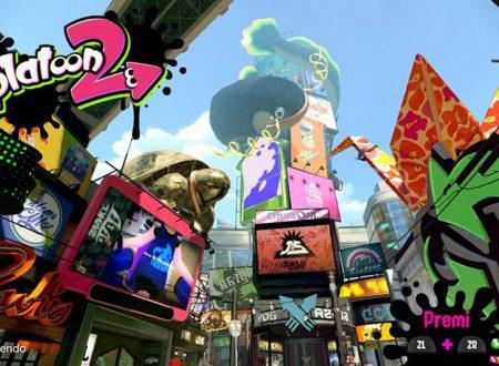 Splatoon 2: il titolo ora aggiornato alla versione 2.3.3 sui Nintendo Switch europei