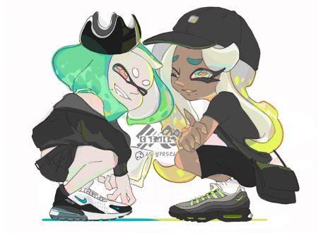 Splatoon 2: pubblicato l'artwork ufficiale dello Splatfest giapponese, in collaborazione con Nike