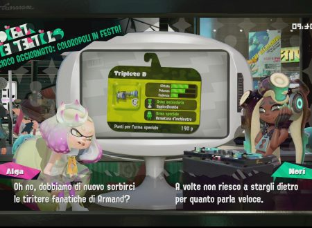 Splatoon 2: uno sguardo in video al Triplete D ora disponibile all'interno del titolo