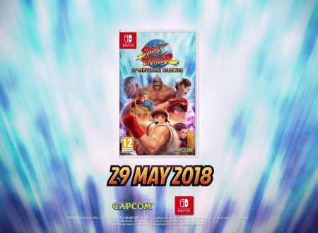 Street Fighter 30th Anniversary Collection: il titolo è in arrivo il 29 maggio sui Nintendo Switch europei