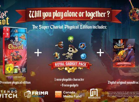 Super Chariot: il titolo è in arrivo a maggio in formato retail sui Nintendo Switch europei