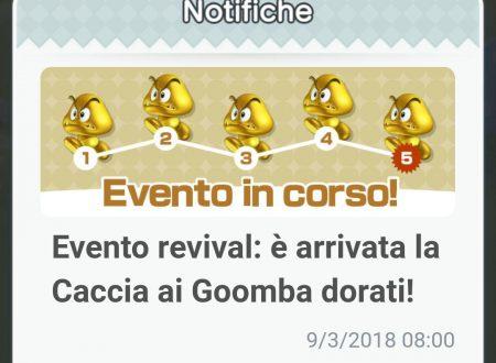 Super Mario Run: ritorno dell'evento revival: caccia ai Goomba dorati, ora disponibile