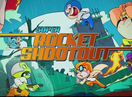 Super Rocket Shootout: il titolo è in arrivo il 5 aprile sull'eShop europeo di Nintendo Switch