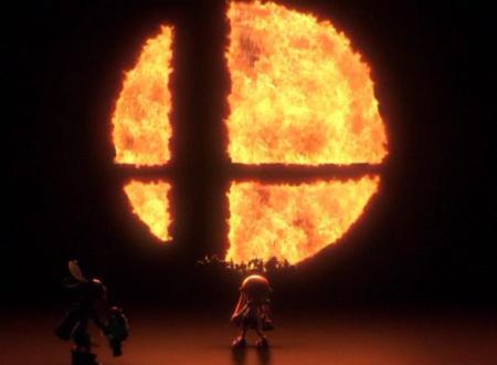 Super Smash Bros. Switch: mostrata una chiara silhouette del cast dei personaggi del trailer