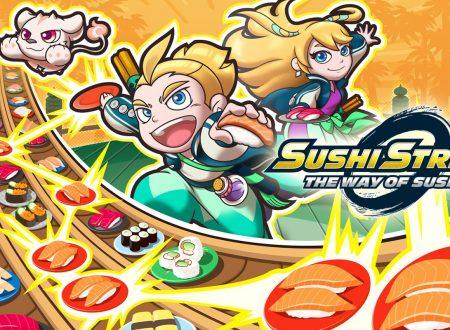 Sushi Striker: The Way of Sushido, il titolo è in arrivo l'8 giugno sui Nintendo Switch europei