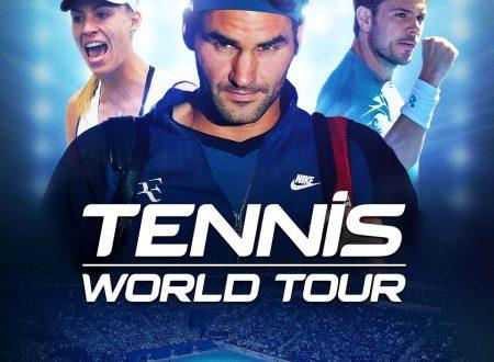 Tennis World Tour: il titolo è in arrivo il 22 maggio sui Nintendo Switch europei