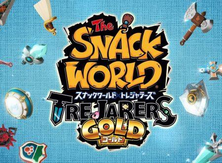 The Snack World: Trejarers Gold, nuovo commercial giapponese di 90 secondi sul titolo