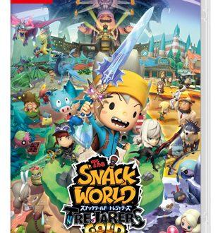 The Snack World: Trejarers Gold, pubblicato un commercial giapponese sul titolo in arrivo su Nintendo Switch