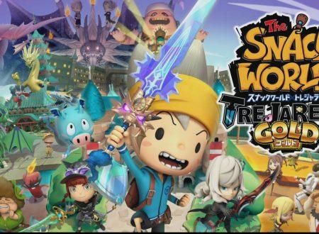 The Snack World: Trejarers Gold, svelato il filesize del titolo su Nintendo Switch, ora in pre-download sull'eShop giapponese