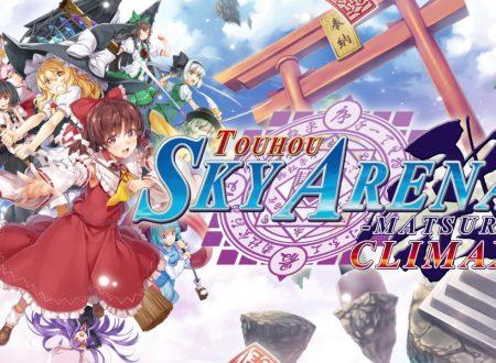 Touhou Sky Arena: Gensoukyou Kuusen Hime Matsuri Climax, pubblicato un nuovo trailer sul titolo in arrivo su Nintendo Switch