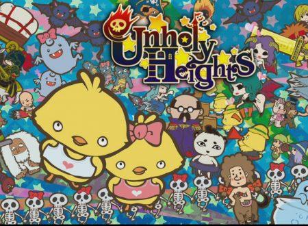 Unholy Heights: il titolo è in arrivo il 29 aprile sull'eShop europeo di Nintendo Switch
