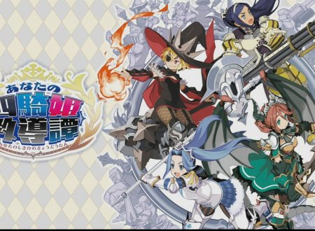 Your Four Knight Princesses Training Story: un video ci mostra 32 minuti di gameplay su Nintendo Switch