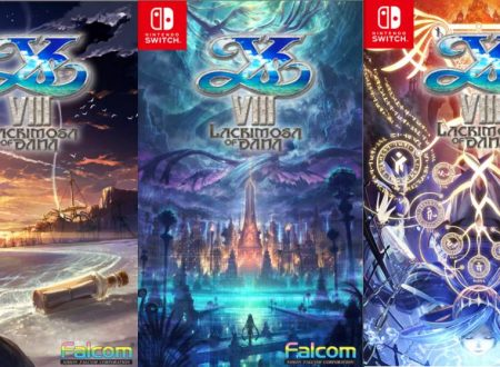Ys VIII: Lacrimosa of DANA, NIS America apre le votazioni per scegliere la cover reversibile del titolo su Nintendo Switch