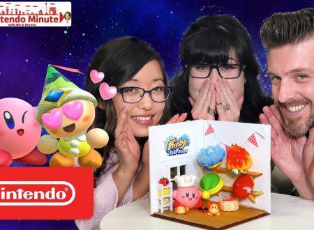 Nintendo Minute: sguardo al diorama di Kirby Star Allies con Captain Dangerous, Kit e Krysta
