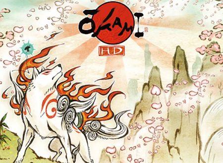 Ōkami HD: un video mostra l'utilizzo del touchscreen nella versione per Nintendo Switch