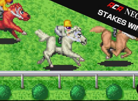 ACA NEOGEO STAKES WINNER: il titolo in arrivo il prossimo 3 maggio sull'eShop europeo di Nintendo Switch