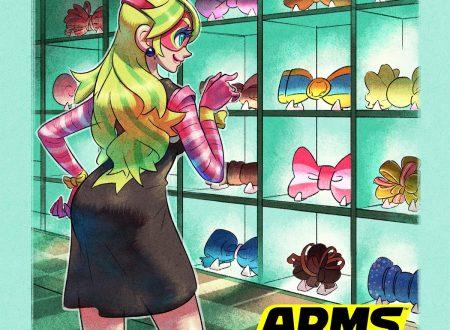 ARMS: il titolo ora aggiornato alla versione 5.3 sui Nintendo Switch europei