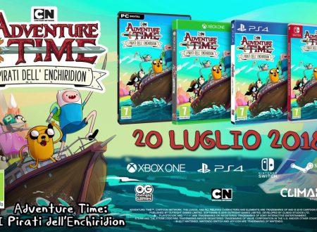 Adventure Time: Pirates of the Enchiridion, il titolo è in arrivo il 20 luglio su Nintendo Switch