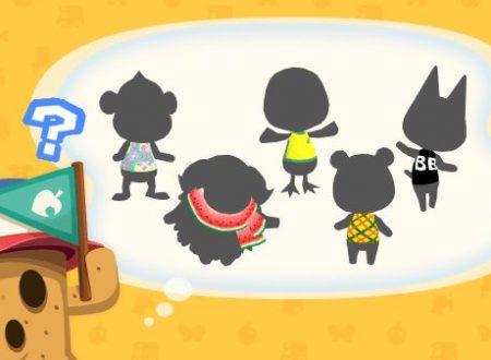 Animal Crossing: Pocket Camp, presto in arrivo cinque nuovi animali nel titolo mobile