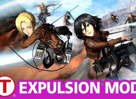 Attack on Titan 2: Future Coordinates, pubblicato un video gameplay sulla Expulsion Mode