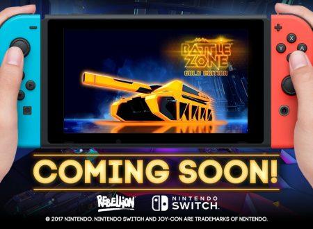 Battlezone: Gold Edition, il titolo è in arrivo in estate sull'eShop di Nintendo Switch