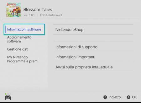 Blossom Tales: The Sleeping King, il titolo aggiornato alla versione 1.0.1 sui Nintendo Switch europei