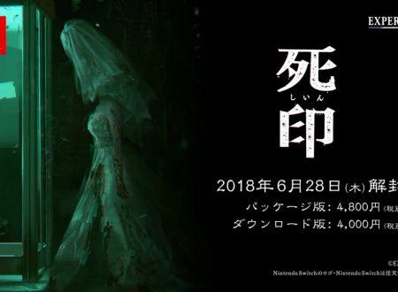 Death Mark: il titolo è in arrivo il 28 giugno sui Nintendo Switch giapponesi