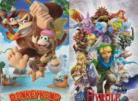 Donkey Kong Country: Tropical Freeze e Hyrule Warriors: Definitive Edition ora in pre-download sui Nintendo Switch europei