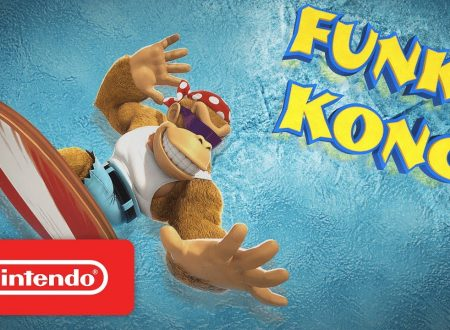 Donkey Kong Country: Tropical Freeze, pubblicati due trailer dedicati a Donkey Kong e Funky Kong